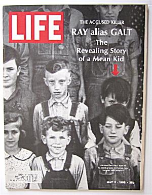 Life Magazine-May 3, 1968-James Earl Ray  (Image1)