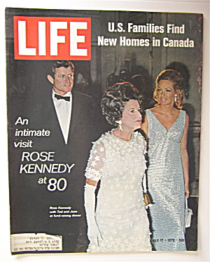 Life Magazine July 17, 1970 Rose Kennedy At 80