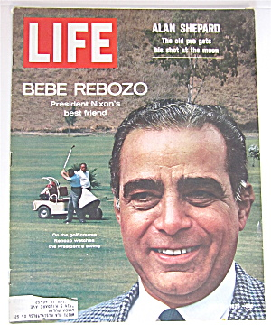 Life Magazine July 31, 1970 Bebe Rebozo-nixon's Friend