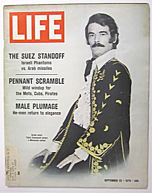 Life Magazine September 25, 1970 Takis Emmanuel