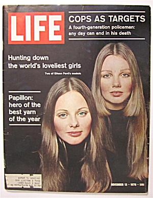 Life Magazine November 13, 1970 2 Eileen Ford's Models (Image1)