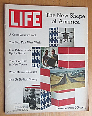 Life Magazine January 8, 1971 New Shape Of America