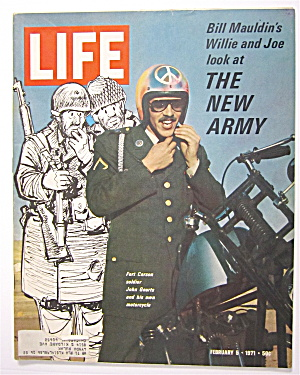 Life Magazine-february 5, 1971-the New Army