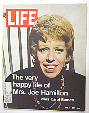 Life Magazine-may 14, 1971-carol Burnett