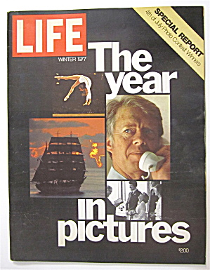 Life Magazine Winter 1977 The Year In Pictures