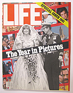 Life Magazine January 1982 The Year In Pictures  (Image1)