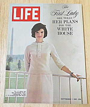 Life Magazine September 1, 1961 The First Lady
