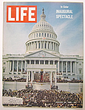 Life Magazine January 29, 1965 Inaugural Spectacle  (Image1)