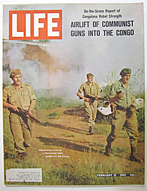 Life Magazine February 12, 1965 The Congo