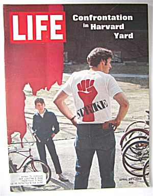 Life Magazine April 25, 1969 Harvard Yard