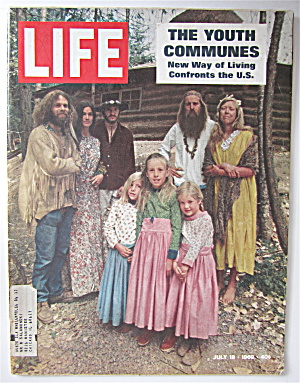 Life Magazine-july 18, 1969-the Youth Communes