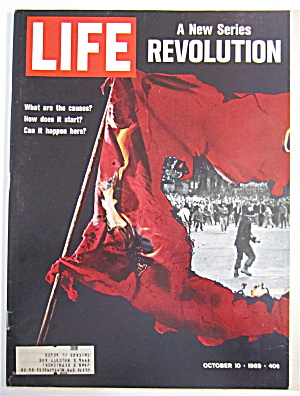 Life Magazine October 10, 1969 Revolution