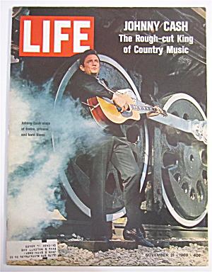Life Magazine November 21, 1969 Johnny Cash  (Image1)