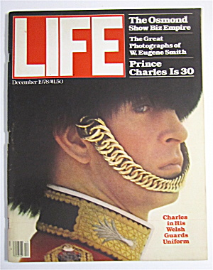 Life Magazine December 1978 Charles In His Uniform