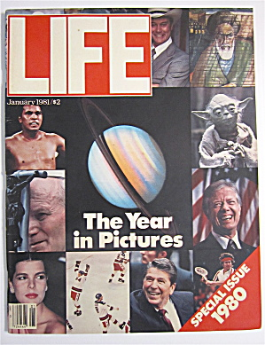 Life  Magazine January 1981 The Year In Pictures (Image1)