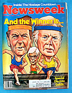 Newsweek Magazine-november 3, 1980-reagan/carter