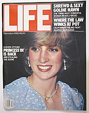 Life Magazine December 1982 Princess Di Is Back