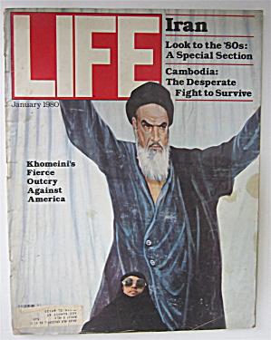 Life  Magazine January 1980 Khomeini's Fierce Outcry  (Image1)