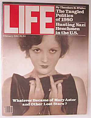 Life Magazine February 1980 What Became Of Mary Astor
