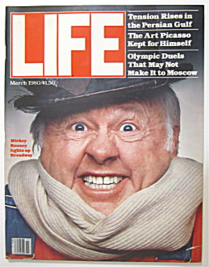 Life Magazine March 1980 Mickey Rooney