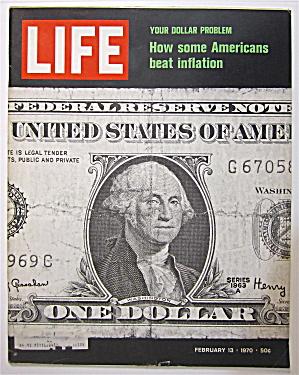 Life Magazine February 13, 1970 Americans & Inflation (Image1)