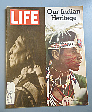 Life Magazine July 2, 1971 Our Indian Heritage
