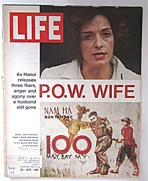 Life Magazine September 29, 1972 P.O.W. Wife (Image1)