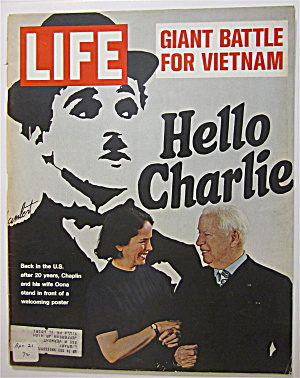 Life Magazine April 21, 1972 Charlie Chaplin