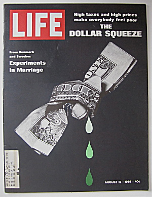 Life Magazine August 15, 1969 The Dollar Squeeze