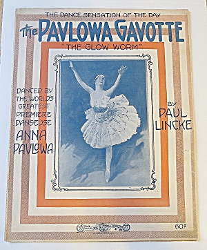 1902 The Pavlowa Gavotte - The Glow Worm