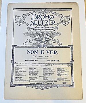 1900's Bromo-Seltzer - Non E Ver (Image1)