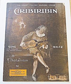 1900's Italian Musical Craze Ciribiribin  (Image1)