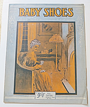 1916 Baby Shoes
