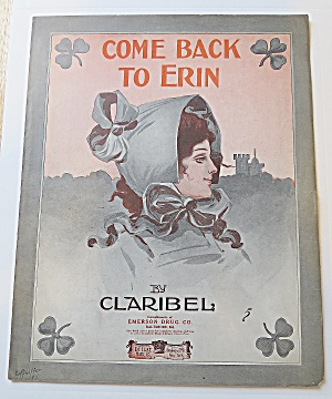 1900's Come Back To Erin (Image1)