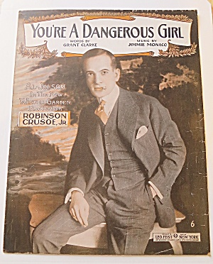 1916 You're A Dangerous Girl