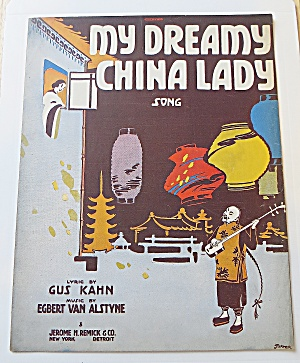 1916 My Dreamy China Lady