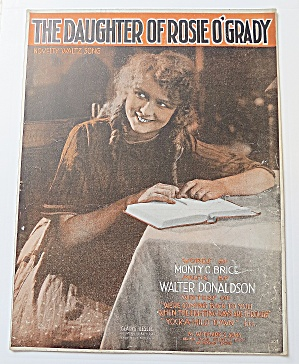 1918 The Daughter Of Rosie O'grady