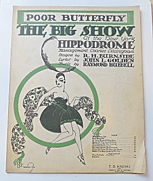 1916 Poor Butterfly The Big Show