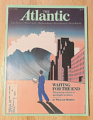 The Atlantic Magazine June 1982 Waiting For The End (Image1)