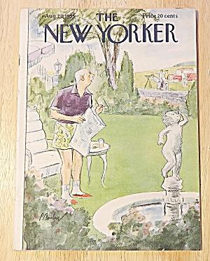 New Yorker Magazine August 20, 1955 Surveyors Next Door (Image1)