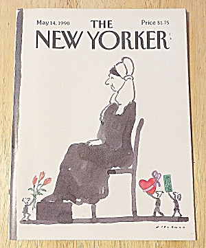 New Yorker Magazine May 14, 1990 Whistler's Mother