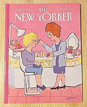 New Yorker Magazine June 11, 1990 Woman & Make Over (Image1)