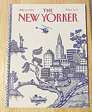 New Yorker Magazine July 23, 1990 City Scene (Image1)