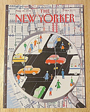 New Yorker Magazine August 20, 1990 City Traffic (Image1)