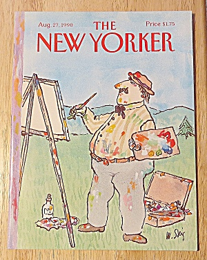 New Yorker Magazine August 27, 1990 Main Painting (Image1)