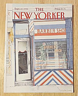 New Yorker Magazine September 10, 1990 Barber Shop (Image1)