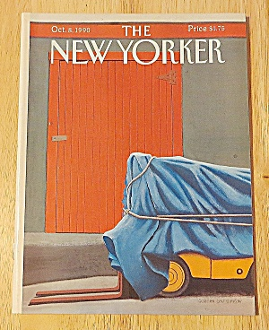 New Yorker Magazine October 8, 1990 Forklift Wrapped
