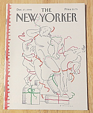 New Yorker Magazine December 17, 1990 Dancing