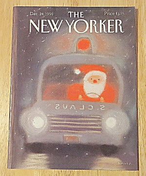 New Yorker Magazine December 24, 1990 Santa Claus