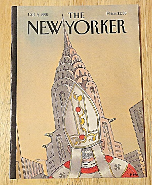 New Yorker Magazine October 9, 1995 Pope & Building (Image1)